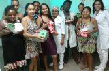 Maternidade Carmosina Coutinho encerra semana de doação do leite materno
