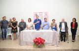 Renomado escritor Assis Brasil abre a XV Feira de Literatura com sessão de autógrafos