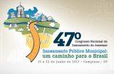 SAAE Caxias participa do 47º Congresso Nacional de Saneamento