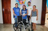 CAPS IJ recebe doação de cadeira de rodas