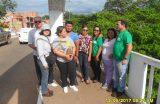 Secretaria de Meio Ambiente e Defesa Civil desenvolve ação para impedir erosão na Foz do Riacho Sanharó em Caxias