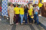 SAÚDE – Dia Mundial de Luta Contra as Hepatites Virais é lembrado com ações de saúde na Praça da Matriz