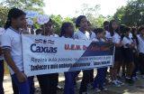 MEIO AMBIENTE – Estudantes da Escola Dr. João Viana participam de atividade pedagógica na Piscina do Ponte