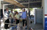 Prefeito de Caxias, Fábio Gentil, visita obras em andamento na cidade