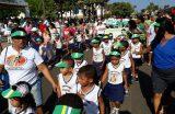 SEMECT realiza desfile cívico com 10 escolas dos polos I e II na Trizidela, em Caxias
