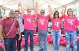 Campanha Outubro Rosa é lançada oficialmente em Caxias com show do humorista João Cláudio Moreno