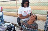 SEMECT realiza Blitz da Beleza para profissionais da Rede Municipal de Educação no Povoado Nazaré do Bruno