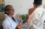 EDUCAÇÃO/ SAÚDE – SEMECT e CEREST realizam ações de saúde junto a professores da Rede Municipal de Educação
