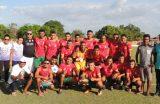ESPORTE – Equipe do Povoado Nazaré do Bruno é a grande campeã da Liga Rural 2017