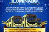 NATAL ILUMINADO – Prefeitura de Caxias disponibiliza ônibus gratuitos para a população nos dias 01 e 02 de dezembro
