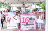 Campanha 16 Dias de Ativismo pelo Fim da Violência Contra as Mulheres encerra atividades na Feirinha da Gente