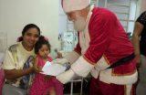 Hospital Infantil – Papai Noel visita pacientes e recebe cartas com pedidos das crianças