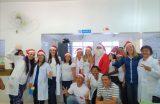 Papai Noel da saúde faz alegria de crianças no CEAMI e Hospital Infantil Dr. João Viana