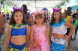 """""""Caxias terá o melhor carnaval do Estado do Maranhão"""", disse prefeito Fábio Gentil durante desfile de crianças fantasiadas na Feirinha da Gente"""