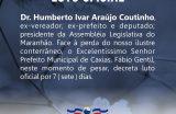 Prefeitura Municipal de Caxias decreta ponto facultativo nas repartições públicas nessa terça-feira (02)