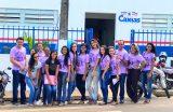 JANEIRO ROXO – Campanha é encerrada com ações de saúde no Bairro Cangalheiro