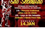 TRÂNSITO – Saiba quais ruas serão interditadas neste domingo (14) para o Festejo de São Sebastião