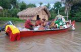 DEFESA CIVIL- Após fortes chuvas, famílias são removidas do povoado Riachão com apoio do Corpo de Bombeiros