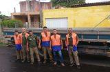 Família do bairro Galiana é removida após acionar Defesa Civil do Município