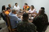 MEIO AMBIENTE E DEFESA CIVIL – Defesa Civil reúne secretarias municipais para elaborar plano de ação de ajuda à população no período chuvoso