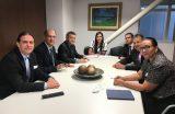 Prefeito Fábio Gentil e vice-prefeito Paulinho reúnem-se em Brasília (DF) com deputados e senadores em busca de recursos para Caxias