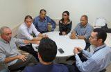 Prefeito Fábio Gentil recebe em Caxias o diretor de relações institucionais da CEMAR e trata sobre melhorias dos serviços da empresa no Município