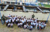 Estudantes da rede municipal de ensino visitam a Estação de Tratamento de Água do SAAE na semana mundial da água