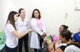 SAÚDE – CEREST realiza ações preventivas junto aos profissionais da rede municipal de saúde