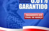TRANSPARÊNCIA – Prefeitura de Caxias garante pagamento do reajuste aos professores aposentados até final de março